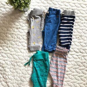 ✨BUNDLE✨ Cute 3-6 mos. baby boy pants